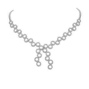 Jewelry - 5.00 Ct round brilliant cut diamonds ladies neckla